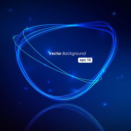 peech Bubble Made of Light Vector Design Stock Vector - 9354735