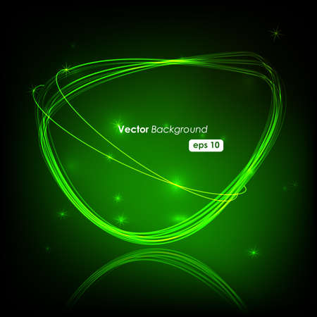 peech Bubble Made of Light Vector Design