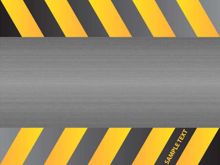 Steel metal plate background vector Vector