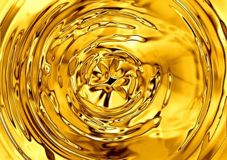 liquid gold background Stock Photo - 9499557