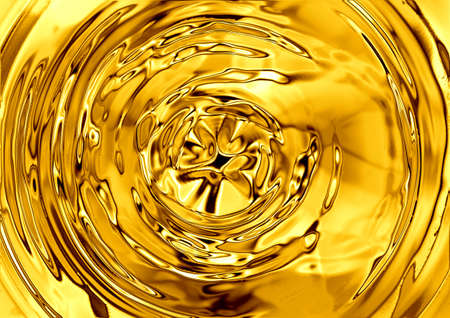 liquid metal: liquid gold background