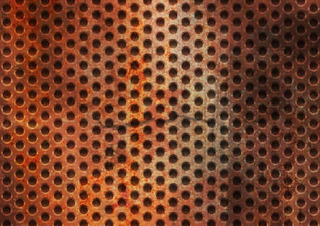 Steel metal plate background Stock Photo - 9499564