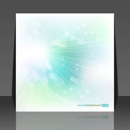Abstract soft sun lights, vector illustration  Vector
