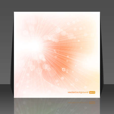 Abstract soft sun lights, vector illustration  Stock Vector - 10667575