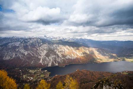 Lake Bohinj, Slovenia  photo