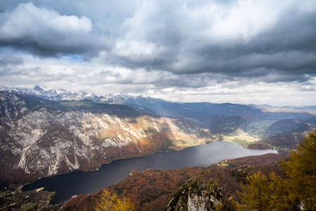 bohinj: Lake Bohinj, Slovenia