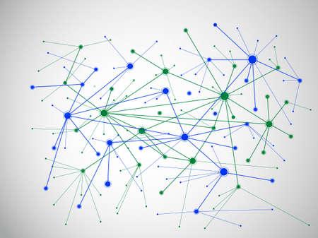 integration: Technology Background. Vector Illustration Illustration