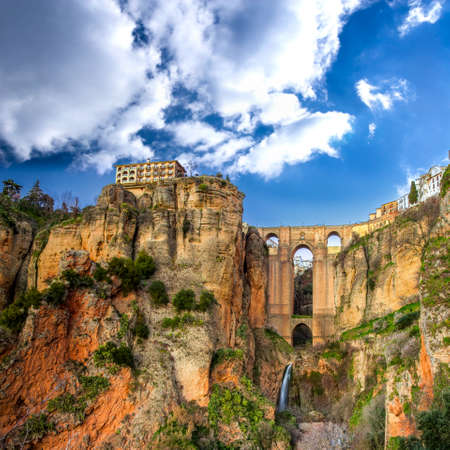 ronda: The village of Ronda in Andalusia, Spain.