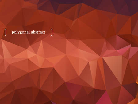 Abstract colorful polygonal background. Vector illustration  Vector