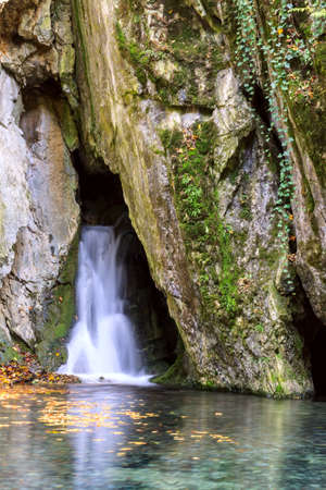 litle: Litle waterfall in Szalajka valley in Hungary