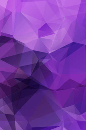 Abstract triangle geometrical multicolored background Vector