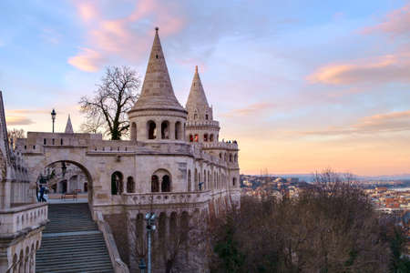 fishermens: Fishermens bastion in Budapest, Hungary Editorial