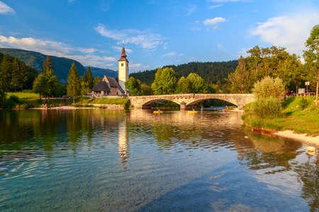 southern european: Church of St John the Baptist, Bohinj Lake, Slovenia