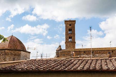 volterra: Ancient center of village Volterra, Tuscany, Italy
