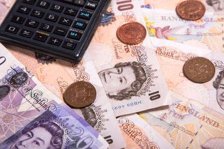 sterlina: Una fotografia del primo piano della moneta Sterling