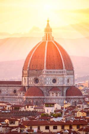 santa maria del fiore: Cathedral Santa Maria del Fiore in Florence, Italy