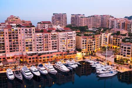 elite: Luxury yachts and elite apartments in the port of Monaco