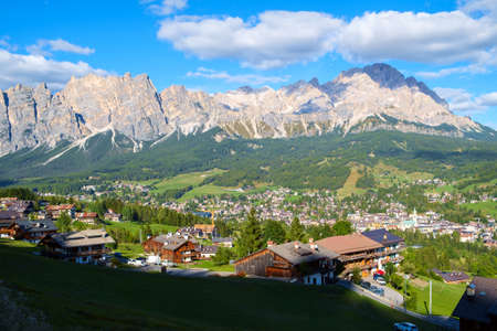 Cortina D Ampezzo resort, South Tyrol ,Italy, Europe