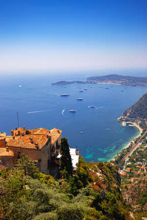 Landscapes View From the Top Of Eze Mountain, Nice, France.