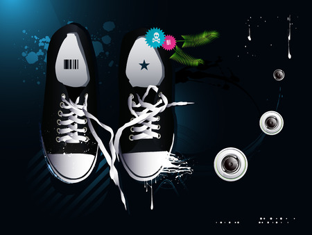 shoelaces: athletic shoes sneakers