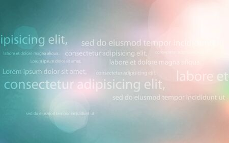 beautiful abstract background for your text Illustration