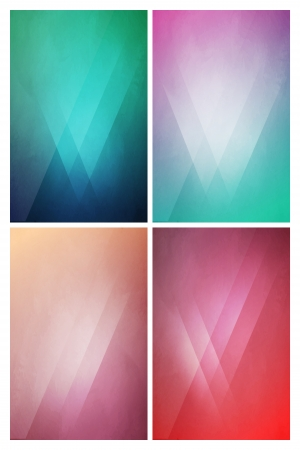 Eye-Catching flat background with Gradient Effect Stock Vector - 24550144
