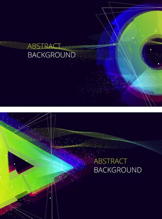 abstract green: Abstract Vector Background. Trendy Background  Illustration