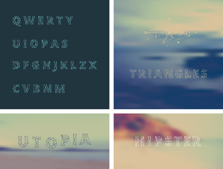 alphabetic: modern vector alphabetic fonts. ABC Letters