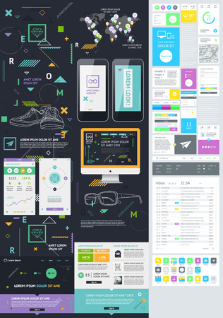 visualize: Flat Elements of Infographics