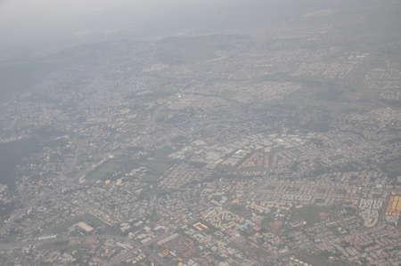 ethiopian: Flying above the Ethiopian highlands