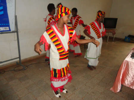 Traditional dance of South Ethiopia