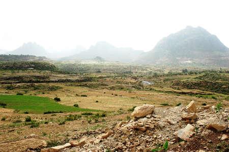 Mountain ranges of Ethiopia Stock Photo