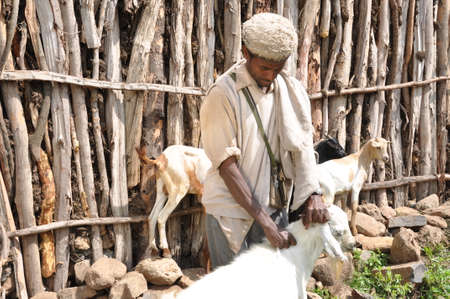 A man and his goats Editorial
