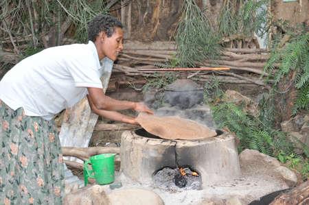 Ethiopian woman Editorial