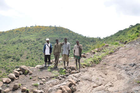Degraded and rehabilitated land of northern Ethiopia