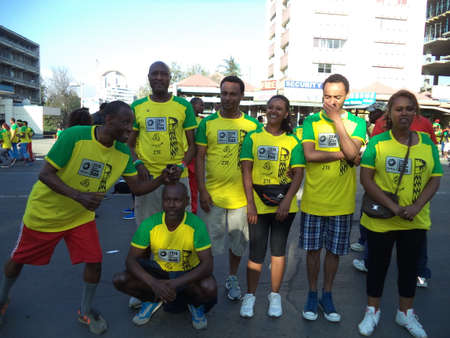Participants of the Great Ethiopian Run-2016 Editorial