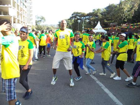 The Great Ethiopian Run - the worlds toughest fun run.