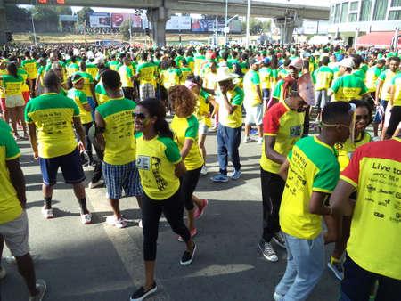The Great Ethiopian Run in Addis Ababa, Ethiopia