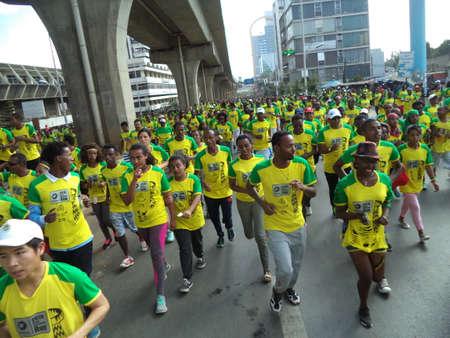 THE GREAT ETHIOPIAN RUN 10K  20 November 2016, Addis Ababa Ethiopia