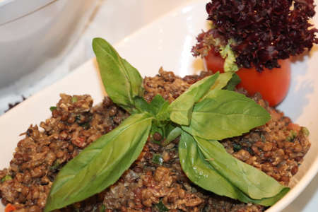 healthy cereal and vegetable recipe