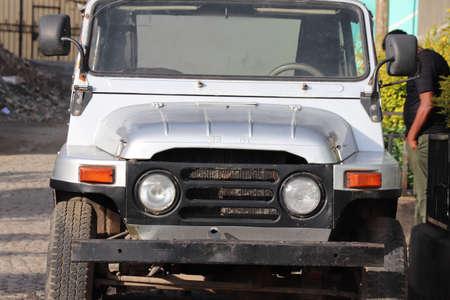 Old Russian Waz Jeep