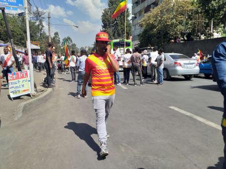 Adwa day celebrations in Ethiopia.