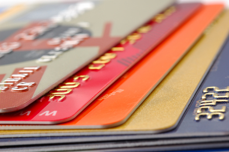 credit cards: Multiple credit cards. Financial  background