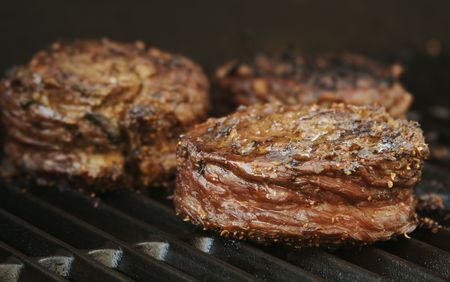 Succulent Wrapped Flank Steak BBQ photo