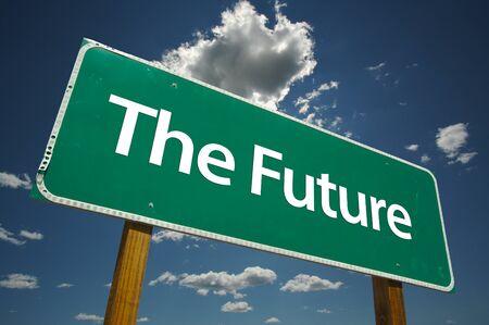 El futuro vial Suscribirse dramático con nubes y el cielo. Imagen versátil. Foto de archivo - 1479796