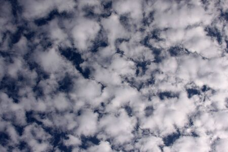 Beautiful Clouds on a Deep Blue Sky Stock Photo - 2023956