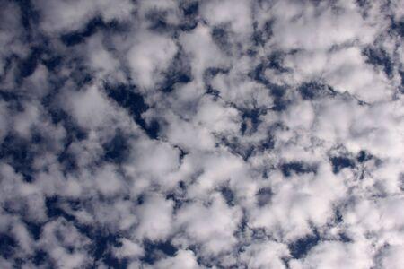 Beautiful Clouds on a Deep Blue Sky Stock Photo - 2023956