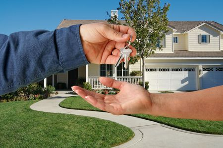 Handing Over the Keys to A New Home photo