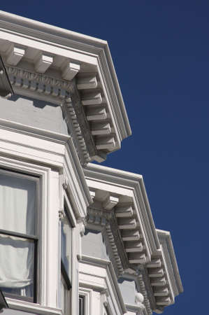 Victorian Home Details in San Francisco Stock Photo - 2530902