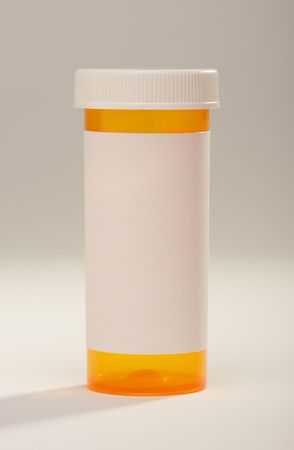 Blank Prescription Bottle photo